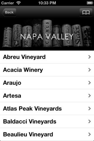 WINE-LIST.ME/NAPA screenshot 1