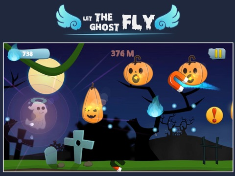 Screenshot #2 for Let the ghost fly