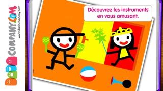 D5EN5: Les instruments - Un livre-jeu interactif pour les enfantsCapture d'écran de 3