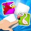 ABC Memory Game Per i Bambini - Imparare Con Gli Uccelli e Gli Animali