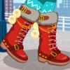 Winter Boots Decor : Shoes Design And Makeover
