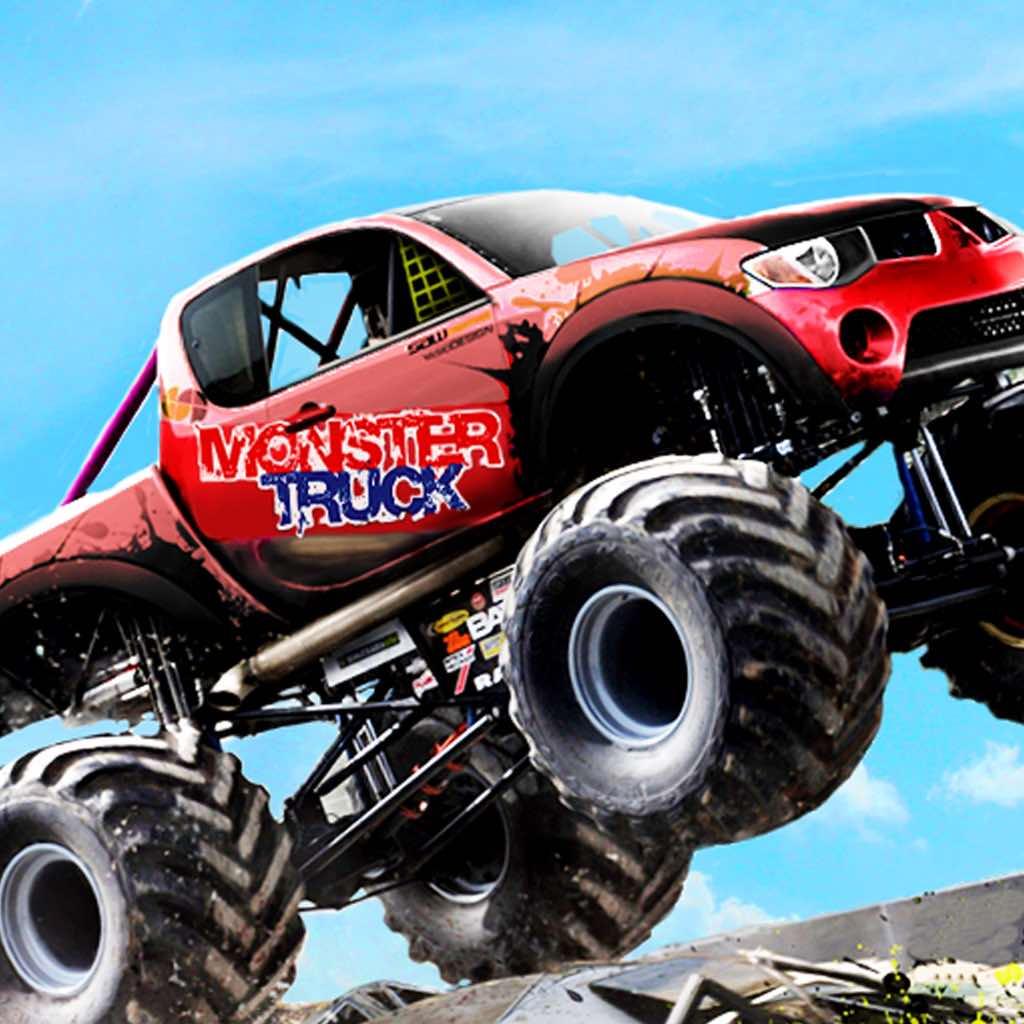 Monster Truck Auto Race Spelletjes Gratis