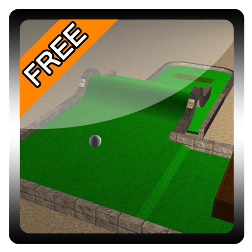 Mini Golf 3D free iOS App