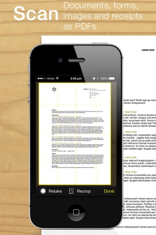 Screenshot of Pico Scanner – Scan, organize, and share documents as a PDF