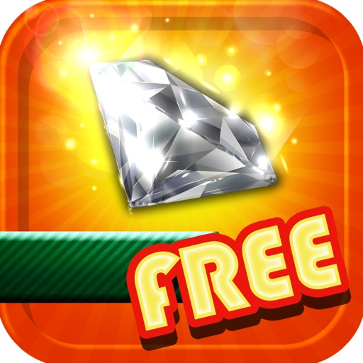 A Diamond Fall Down Free Classic Arcade Puzzle Games For Kids Mania iOS App