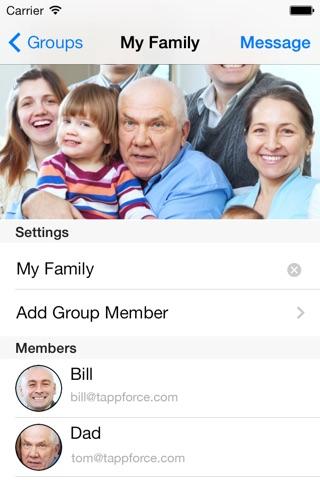 GroupMail - Group E-mails screenshot 2
