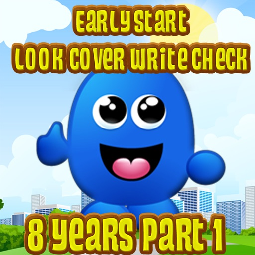 Early Start Look Cover Write Check 8 Years Part 1 Icon
