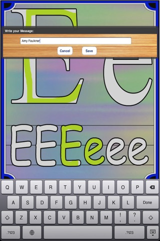 Kids Finger Painting - Learn Your Letters screenshot 3