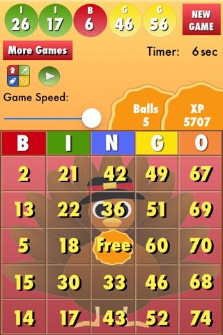 Bingo Thanksgiving screenshot 2
