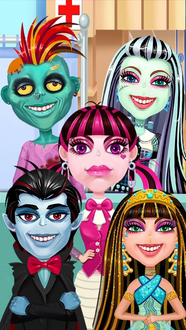 download Juego Médico Monstruo 2 - GRATIS para los niños, las niñas y chicas apps 3
