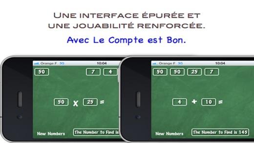 Bien-aimé Le Compte est Bon ! dans l'App Store QJ08