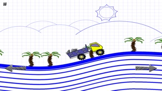 落書きの丘のトラック運転手 配信 - 無料ゲームをシュミレーションのスクリーンショット3