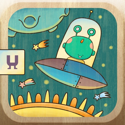 Peekaboo Universe - Find Aliens on the different planets. Funny hide and seek game for toddlers