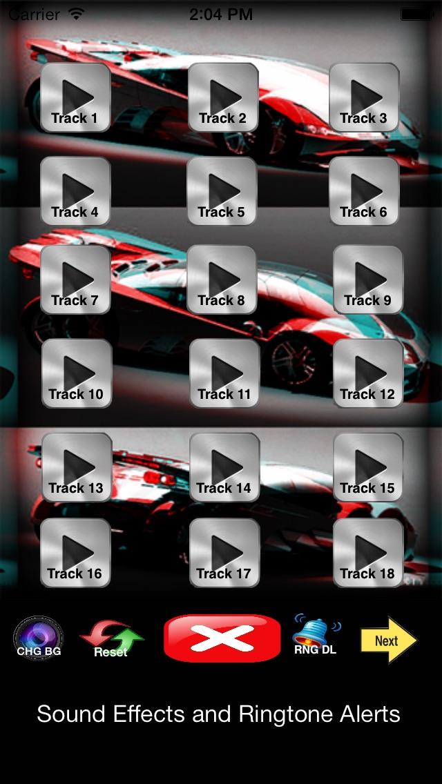 Автомобиль рога - Дека, Рингтоны, оповещения и сигнализации Звуки Скриншоты3