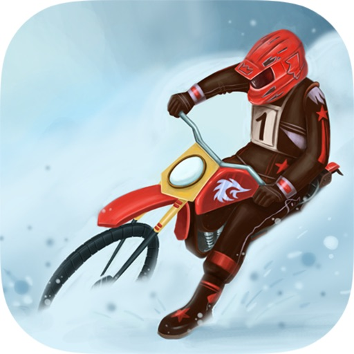 Winter Motocross 3D - Ice Chase Deluxe iOS App