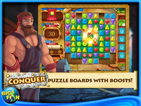 Greek Gems - A Collapse Game-ipad-3