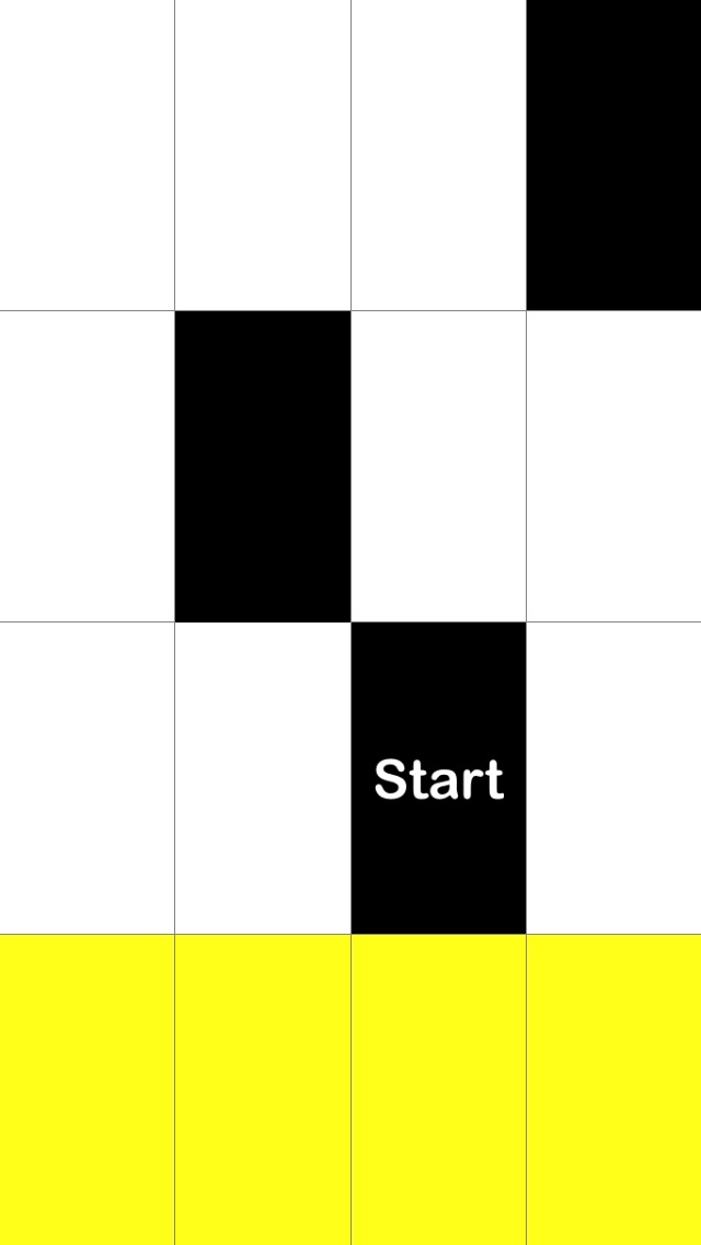 Screenshots of Tap Black Tiles, Avoid White Tiles for iPhone
