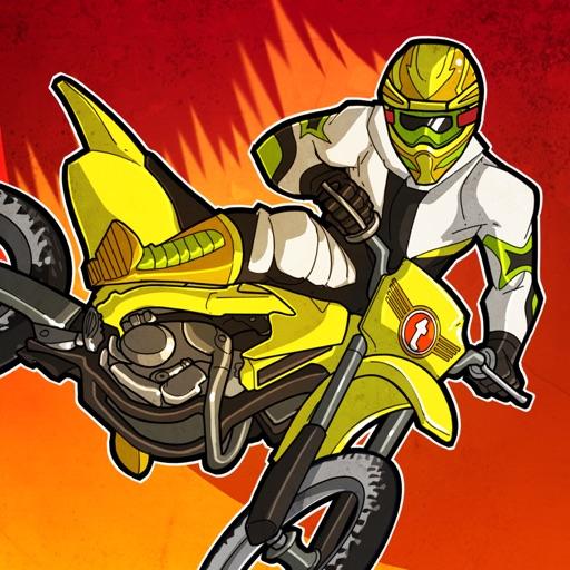 疯狂越野摩托车Mad Skills Motocross【赛车游戏】