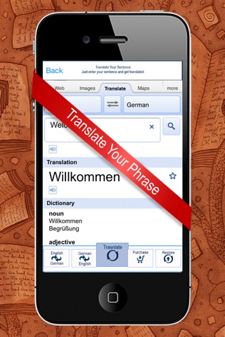 English to German & German to English Dictionary screenshot 3