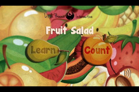 Toddler Counting 123 - Fruit Salad screenshot 1