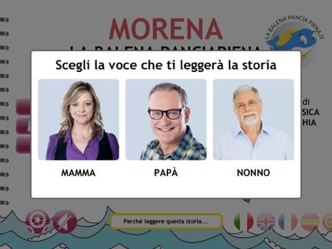 Morena La Balena Panciapiena Screenshot