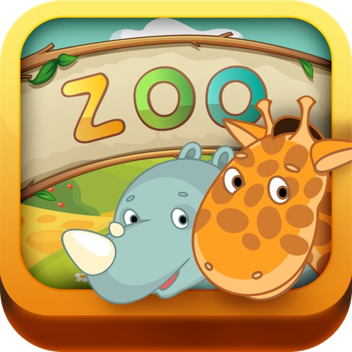 Kids: Zoo Animals Free - 3 in 1 Interactive Preschool Learning Game - Teach Toddler Real Sounds and Names of Wild Life, Jungle and Farm Pet Animal by ABC BABY iOS App