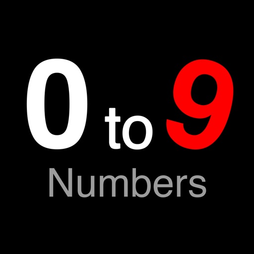 Piano Numbers - 0to9 iOS App
