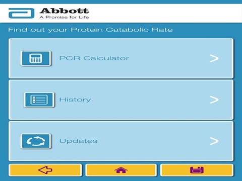 Abbott Nutrition - Nepro nPCR Calculator App-ipad-0