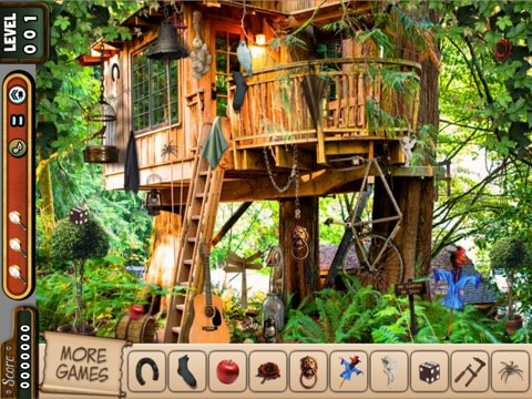 Hidden Objects Tree House Quest Find The Evidence