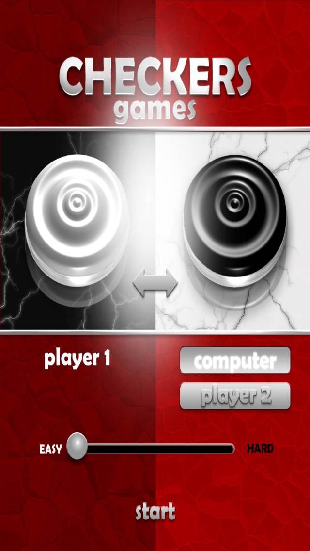 Screenshot of Gratuita Checkers gioco2