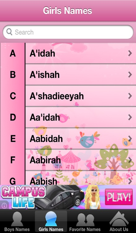Islamic Baby Names / Muslim Boys-Girls Names With Perfect