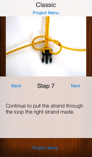 Paracord узлов шаг за шагомСкриншоты 2