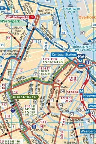 Amsterdam Guide Provide City Guide Amsterdam Subway Map Amsterdam