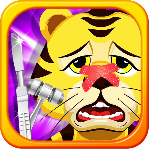 Baby Pet Doctor - my little vet animal ear & throat care surgery game for kids