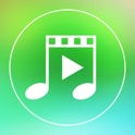 Video Background Music Square Free - Create Video Music by Add and Merge Video and Song Together and Share into Square Size for Instagram icon