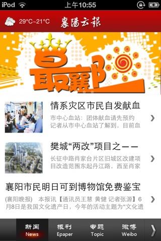 襄阳云报 screenshot 1