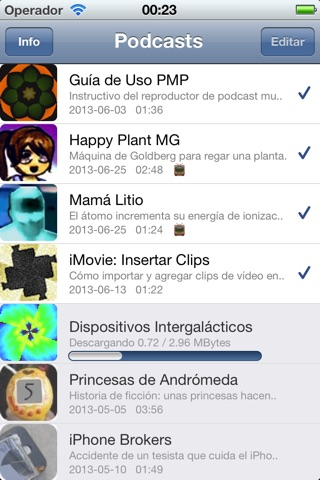 Podcast Multimedia screenshot 2