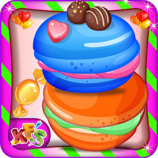 Ice Cream Cookie Maker – Bake carnival food in this bakery cooking game for kids iOS App
