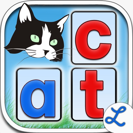 Montessori Crosswords - Fun Phonics Game for Kids to Learn to Sound Letters & Alphabet