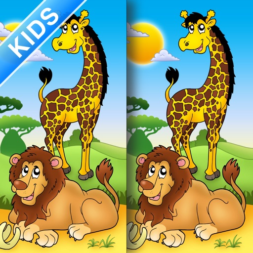 Africa & Adventure Spot the Difference for Kids and Toddlers Full Version iOS App