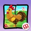 Rompecabezas de granja 123 para iPad - Divertido juego educativo para niños