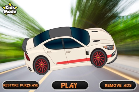 Fast Track Speed Racer Game - Road Rage Games screenshot 1