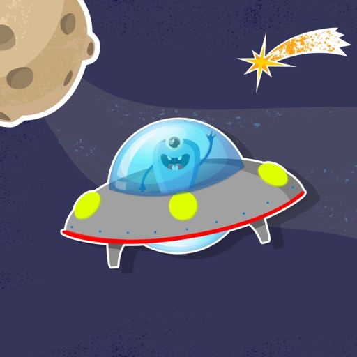 Silly Aliens in Space! iOS App