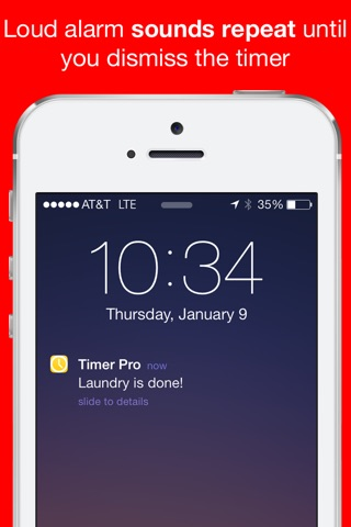 Timer Pro Countdown with Multiple Loud Alarm Timers for Everyday Cooking, Fitness, Timeout screenshot 4
