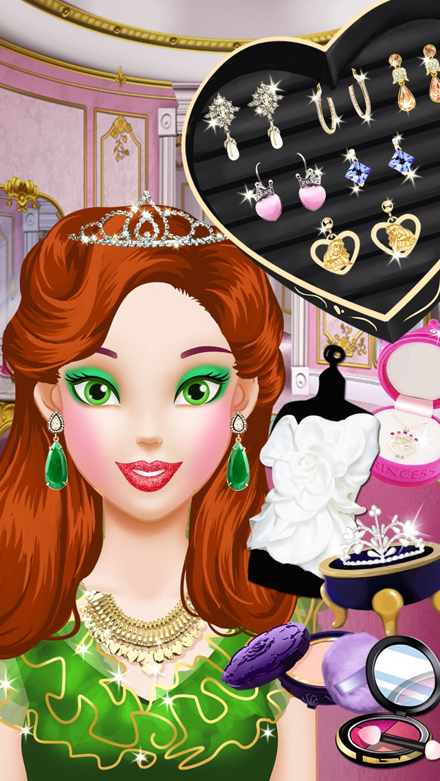 Princess Salon - Girls Gamesのおすすめ画像3