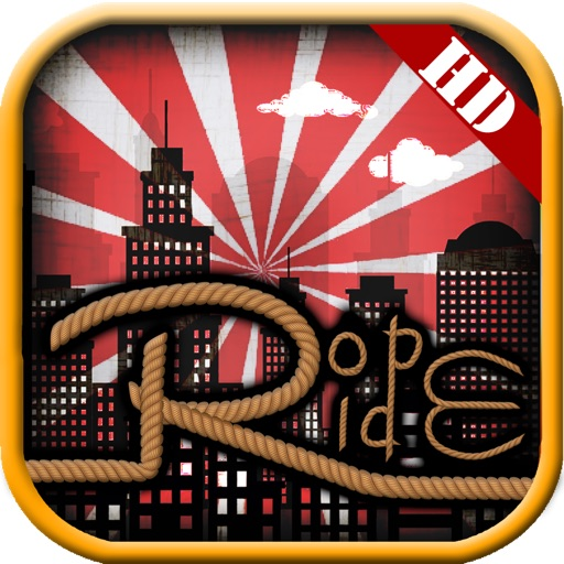 Rope Swing 'n' Fly: Super Ride with Spider in Brooklyn Downtown iOS App
