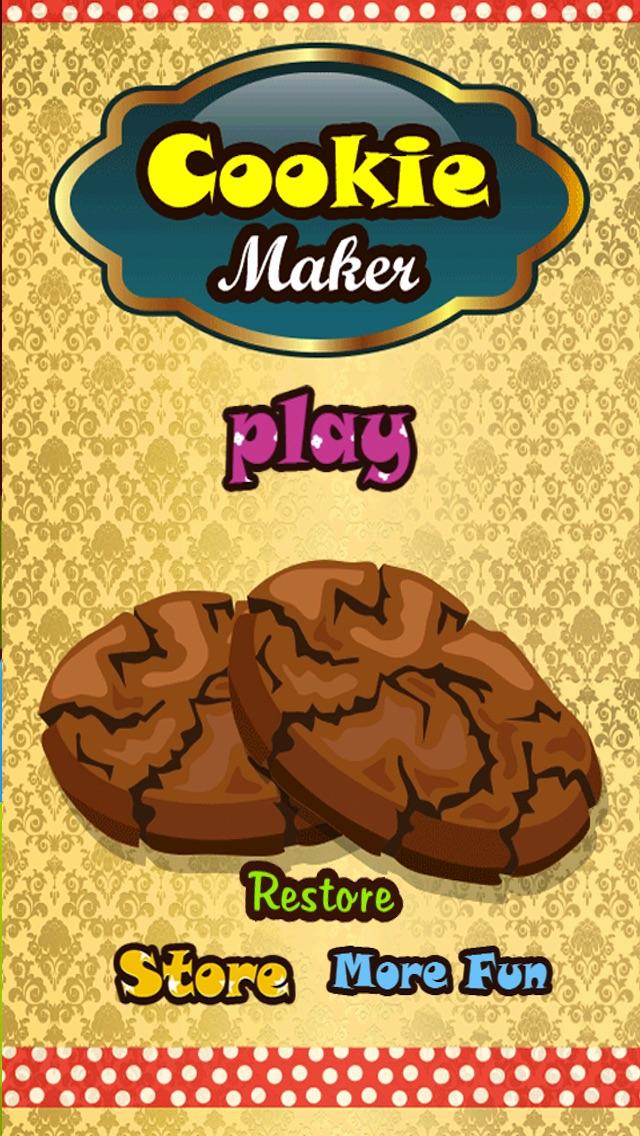 クッキーメーカー - ピザの愛好家、ケーキ、キャンディー、ハンバーガー、チョコレート、アイスクリームのための無料のホットクッキングゲーム - 女の子&ティーンのための無料ゲームのスクリーンショット1