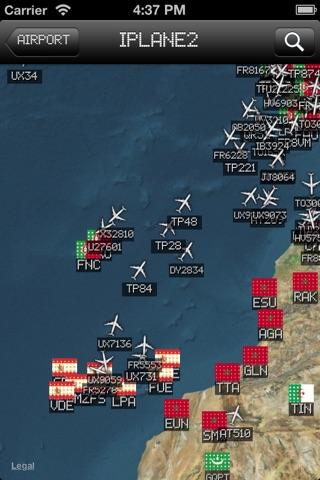 iPlane 2 - Flight Info + Status + Radar Tracker screenshot 3