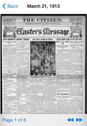 Vintage Newspapers screenshot 1