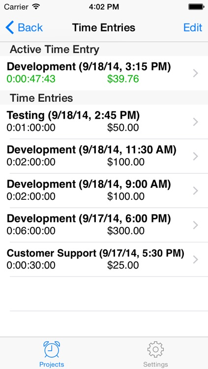 Easy TimeSheet Lite by Augustine Software